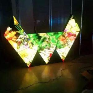 LED Khối DJ-Hồng Nhân
