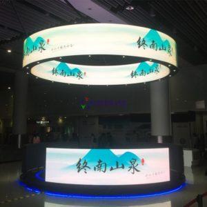 LED Hình Tròn-Hồng Nhân