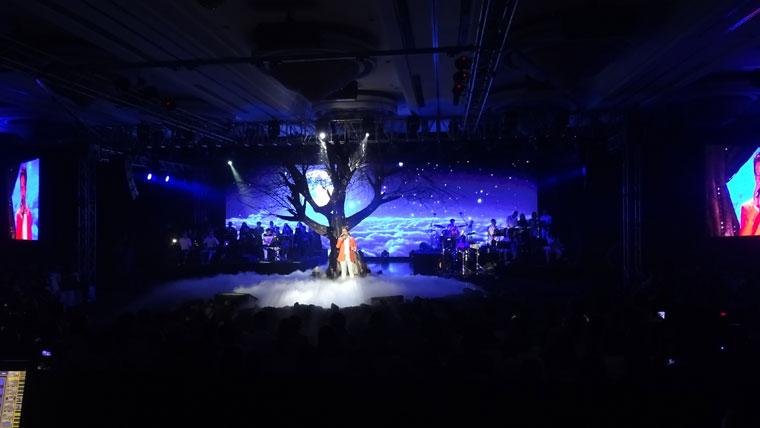[ MÀN LED ] LIVESHOW HA ANH TUAN là một trong số các dự án nổi bật của Màn Hình Led - Hồng Nhân.