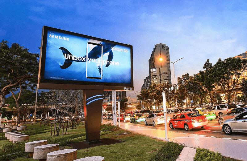 Công nghệ màn hình LED sẽ đưa quảng cáo lên một tầm cao mới