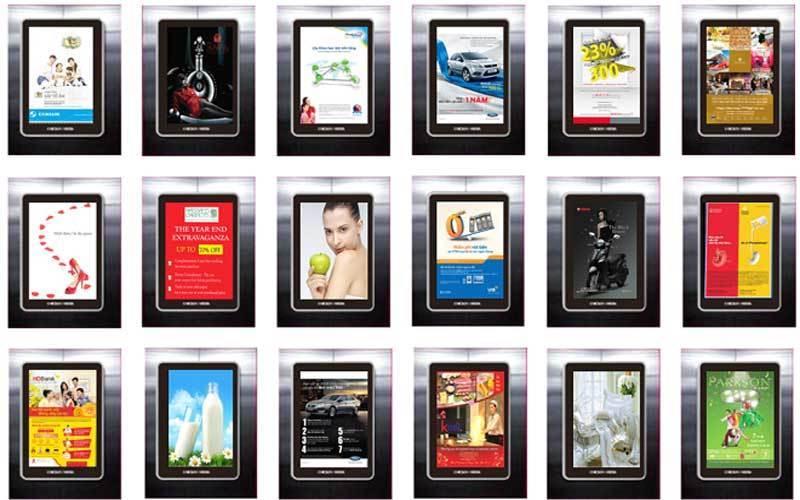 Poster Frame có khả năng hiển thị hình ảnh sống động
