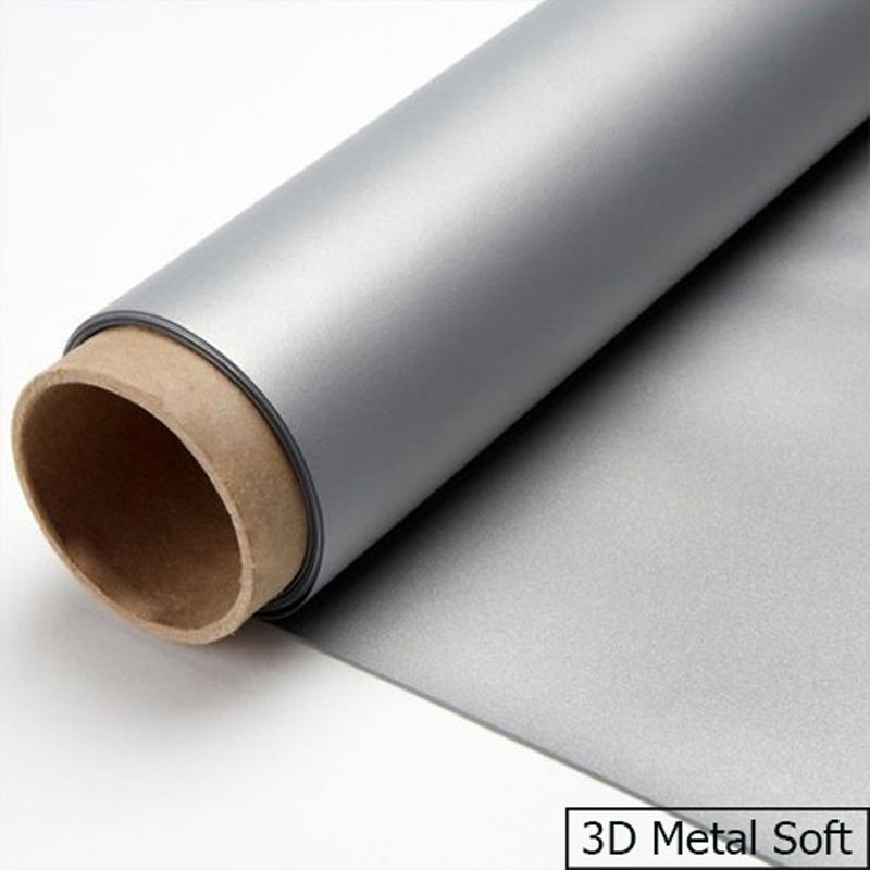 Vải màn chiếu bạc 3D Meta Soft phù hợp với màn chiếu bạc 3D chuyên dụng