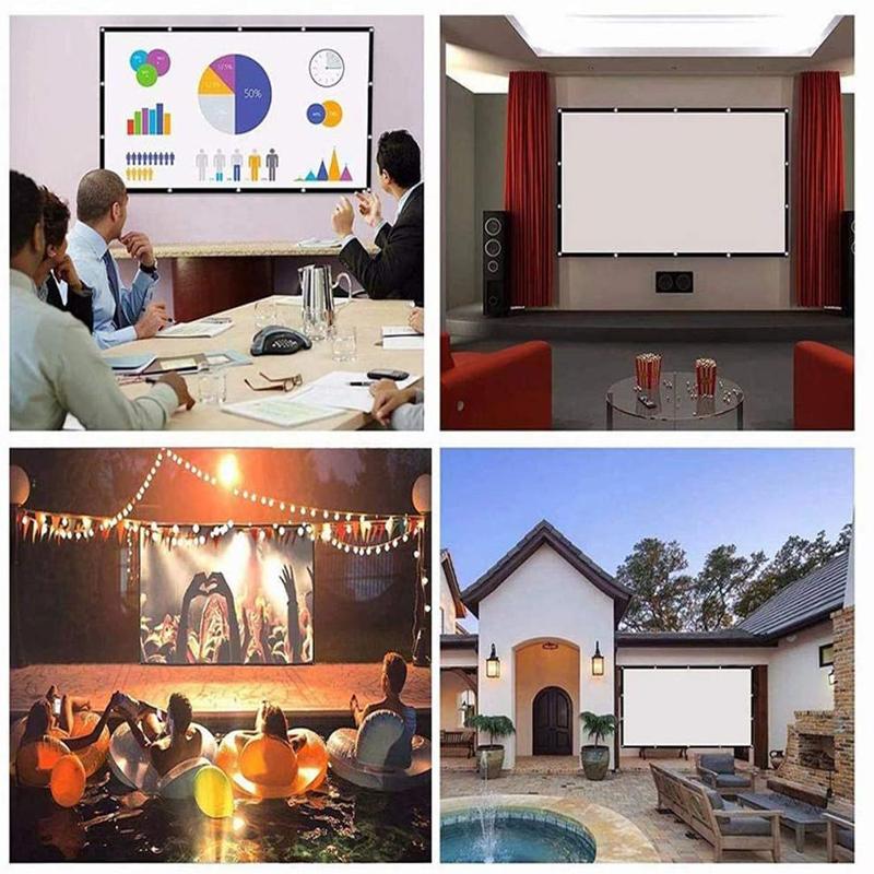 Mỗi loại màn chiếu sẽ phù hợp với một nhu cầu khác nhau