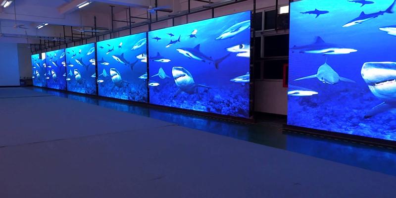 Màn hình LED P3 sử dụng phổ biến trong hội trường, nhà hàng, trung tâm sự kiện