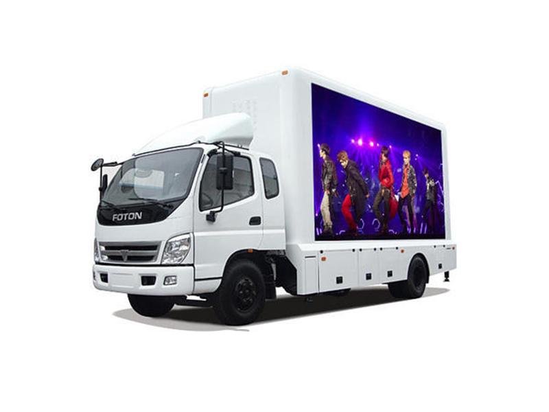 Xe tải là lựa chọn hoàn hảo cho màn hình LED quảng cáo di động