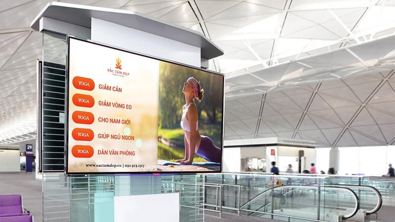 Nội dung sống động là một ưu điểm tuyệt vời của màn hình LED