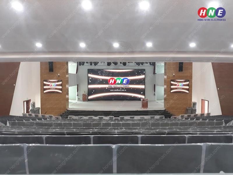 Lắp đặt màn hình LED P2.5, P5 tại trường Học Viện Cán Bộ