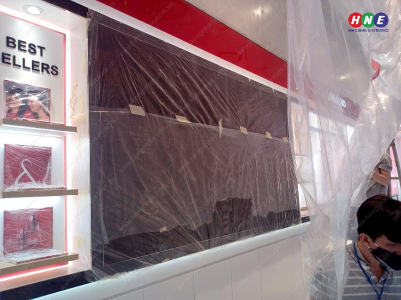 Lắp đặt màn hình LED P3 tại Lotte Hà Nội