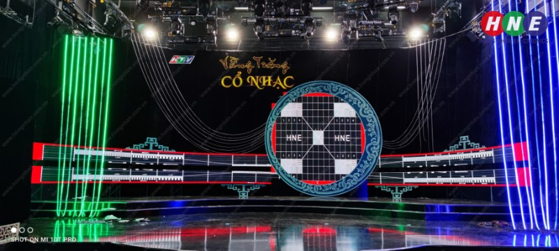 Chương trình Vầng Trăng Cổ Nhạc tại Đài Truyền Hình TP.HCM