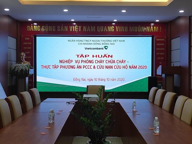 Dự án Hồng Nhân lắp đặt tại Vietcombank - Đồng Nai