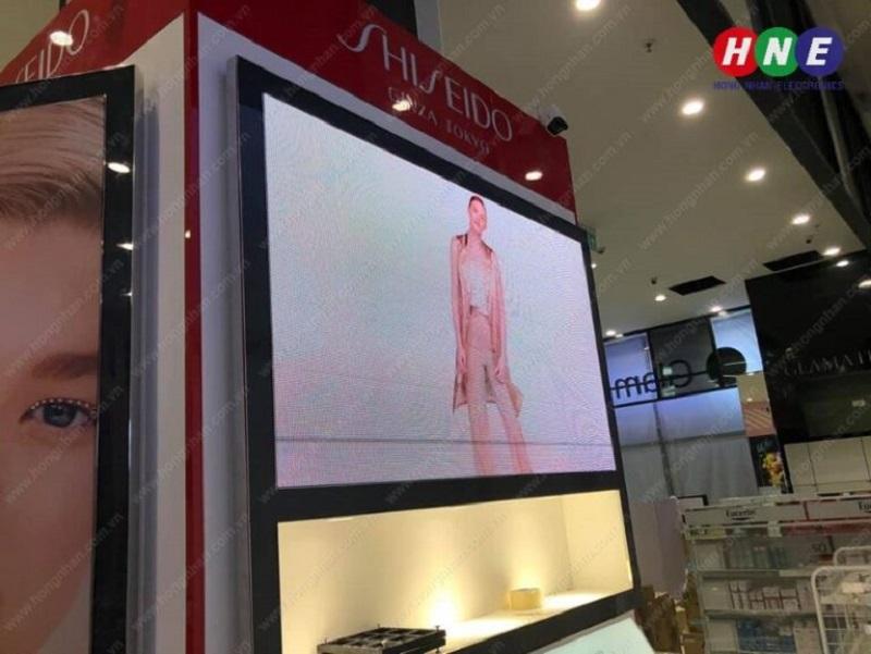 Dự án màn hình LED P3 Hồng Nhân lắp đặt tại AEON Long Biên